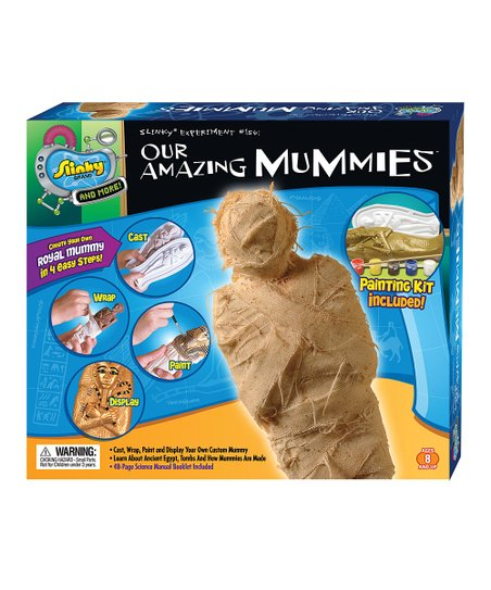 Poof-Slinky Our Amazing Mummies Slinky Science Kit