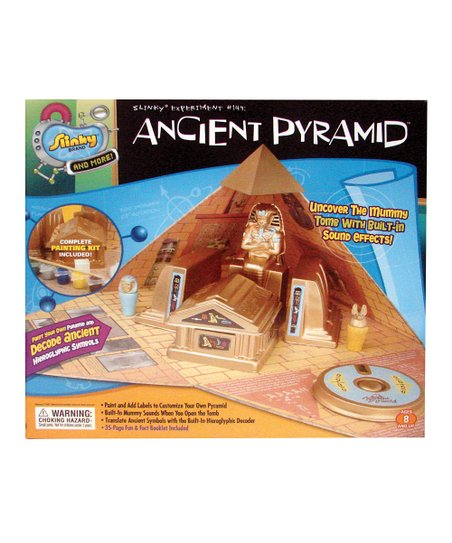 Poof-Slinky Ancient Pyramid Slinky Science Kit