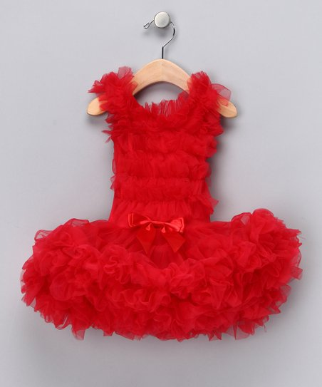 Red Skirted Tutu Bodysuit - Infant, Toddler & Girls