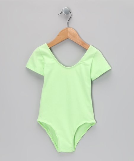 Mint Leotard - Toddler & Girls