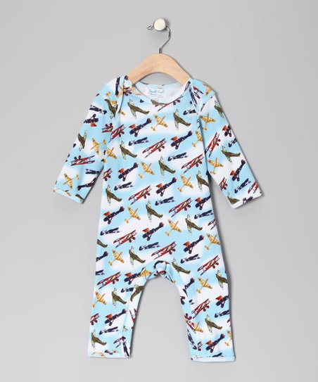 Vintage Plane Playsuit - Infant