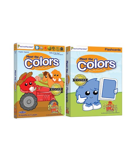 Colors DVD & Flash Cards