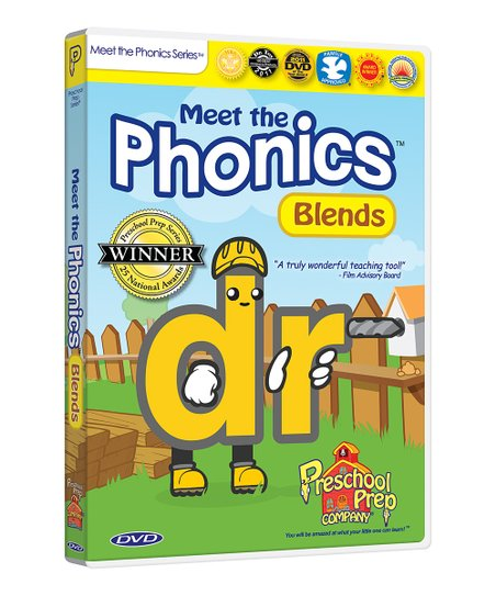 Meet the Phonics Blends DVD