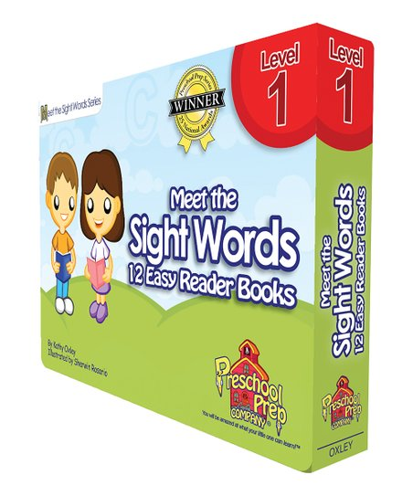 Meet the Sight Words Easy Reader Level 1 Book Set