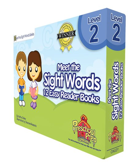 Meet the Sight Words Easy Reader Level 2 Book Set