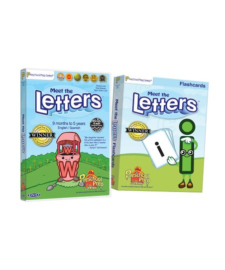 Meet the Letters DVD & Flash Cards