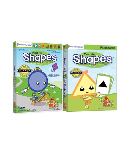 Shapes DVD & Flash Cards
