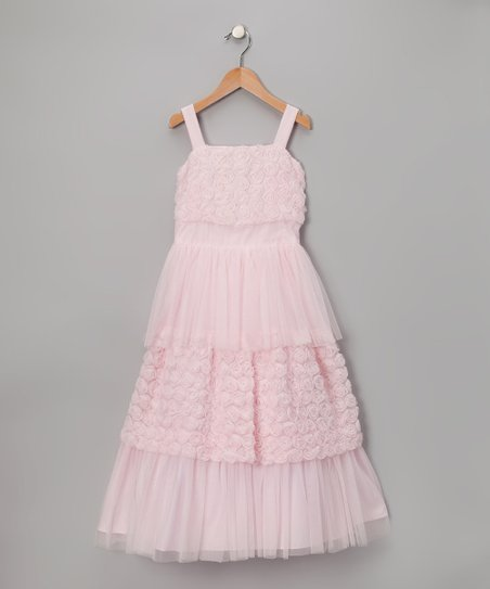 Pink Babydoll Dress - Toddler & Girls