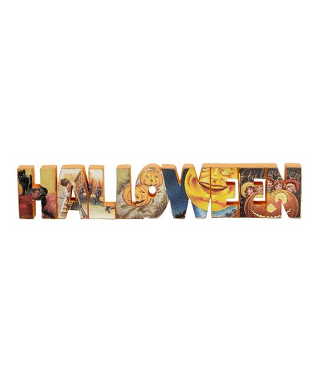 'Halloween' Word Block
