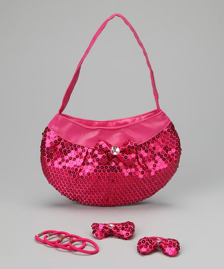 Fuchsia Purse Set