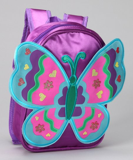 Purple Wing Backpack