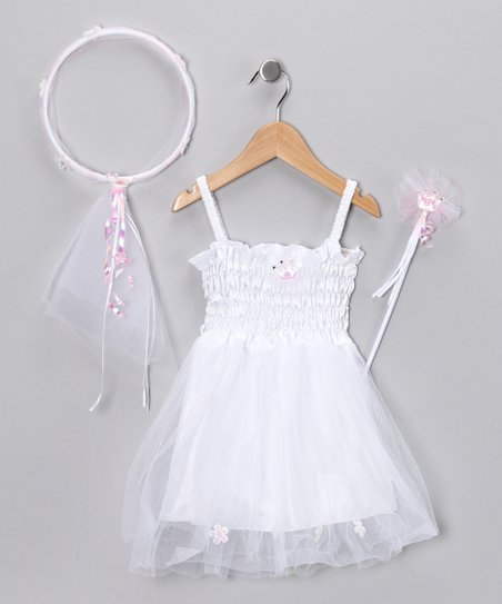 White Dress-Up Set - Toddler & Girls