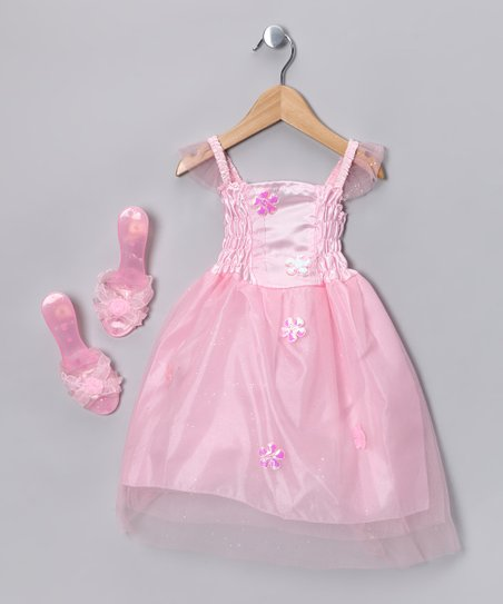 Pink Princess Dress-Up Set - Toddler & Girls