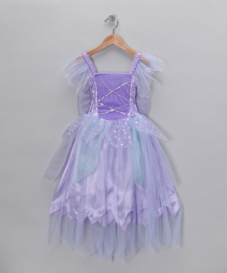 Purple Winged Fairy Dress - Toddler & Girls