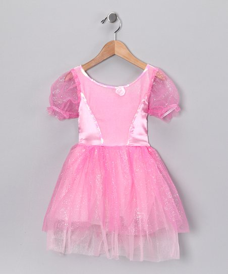 Pink Shimmer Princess Dress - Toddler & Girls
