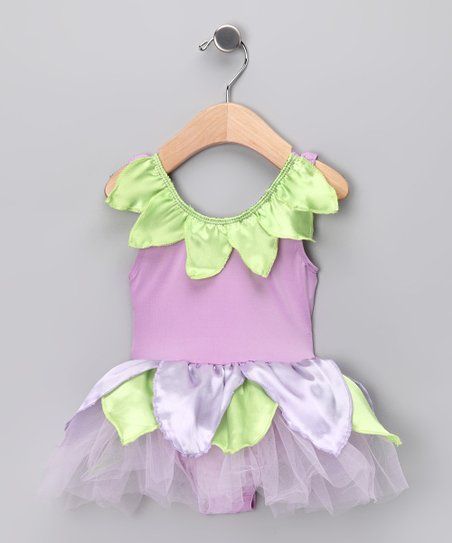 Lilac Petal Skirted Bodysuit - Infant