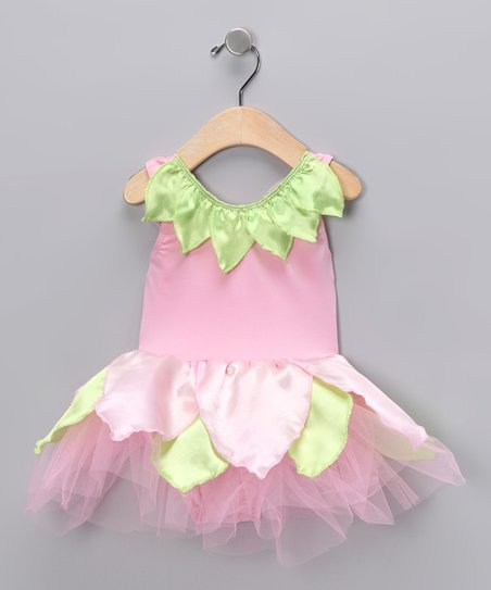 Pink Petal Skirted Bodysuit - Infant