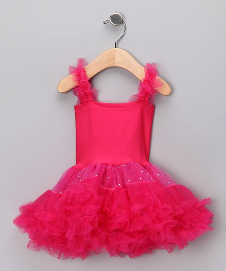 Fuchsia Tutu Dress - Infant