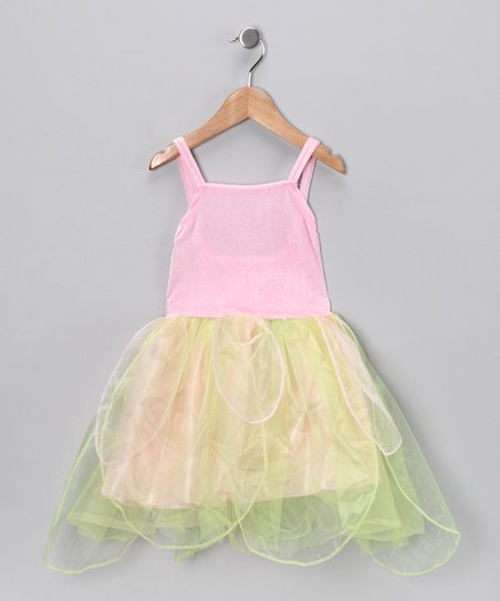 Pink & Mint Fairy Dress - Toddler & Girls