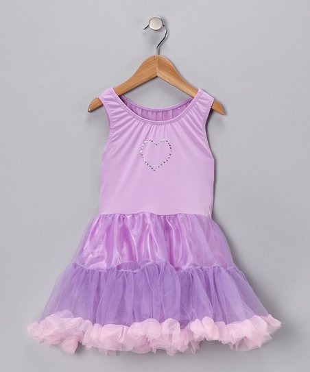 Lilac Sparkle Tutu Dress - Toddler & Girls