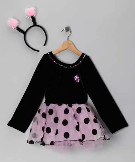Pink Ladybug Dress-Up Set - Infant, Toddler & Girls