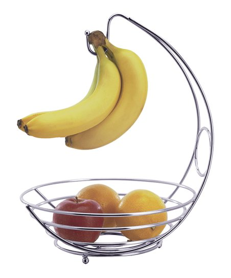 Chrome Fruit Bowl
