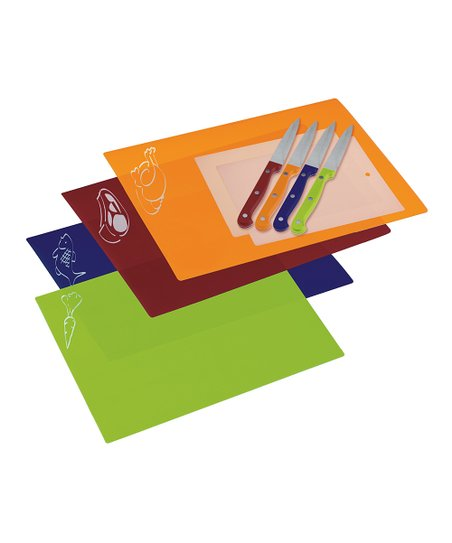 Chopping Mat &amp; Knife Set