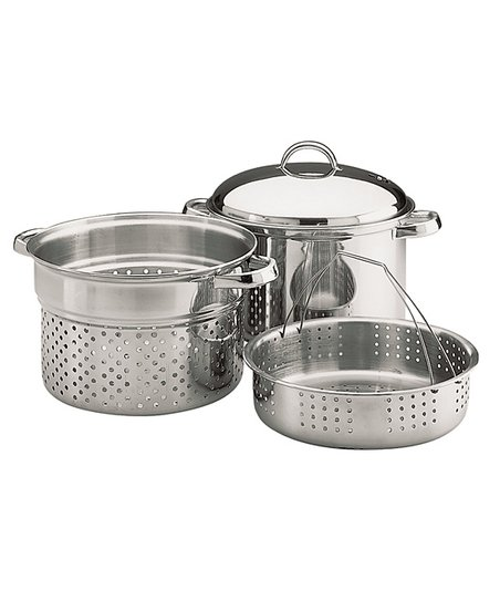 Stainless Steel Steamer Set