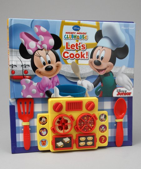 Mickey Mouse Clubhouse Let's Cook! Sound Hardcover