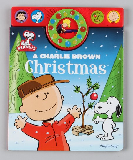 A Charlie Brown Christmas Holiday Songbook Board Book