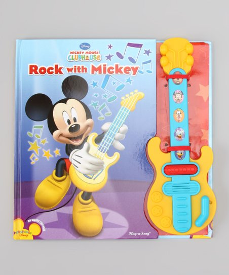 Rock with Mickey Board Book
