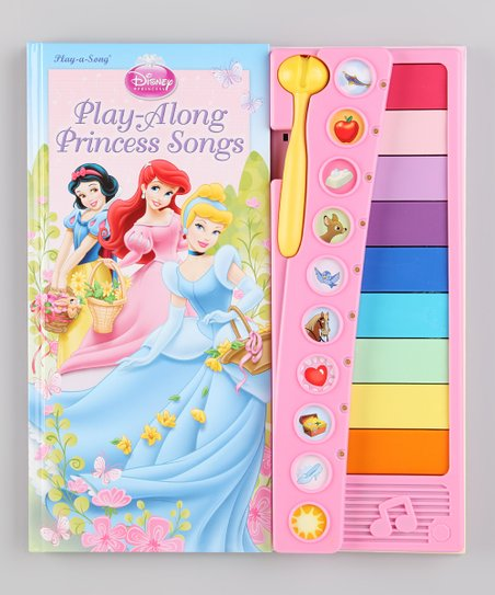 Play-Along Princess Songs Xylophone Hardcover