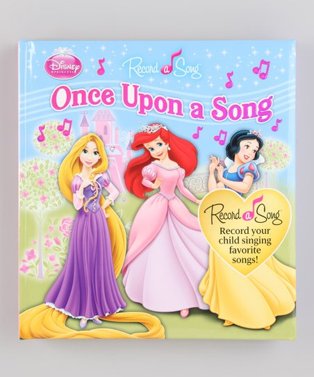 Once Upon a Song Record-a-Song Padded Book