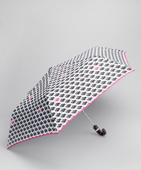 Black & Pink Shoes Umbrella