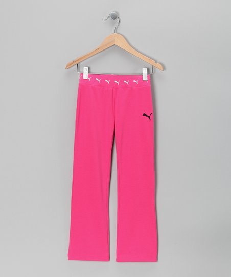 Pink Berry Core Yoga Pants - Toddler & Girls