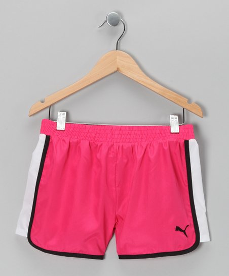 Pink Berry Shorts - Toddler & Girls