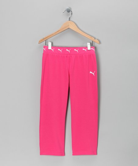 Pink Berry Core Capri Yoga Pants - Toddler & Girls