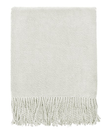 Oatmeal Organic Throw