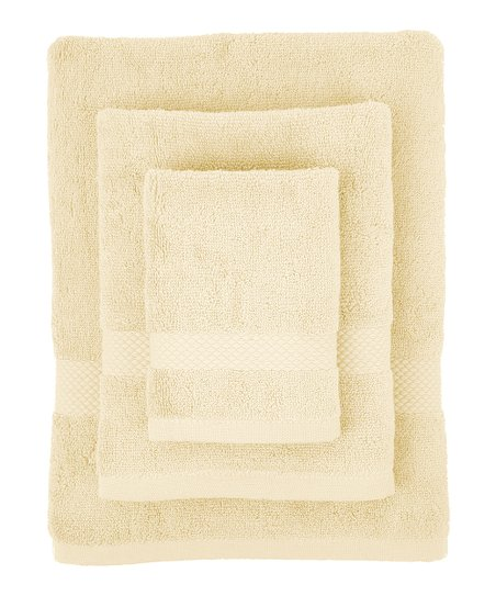 Ecru Organic Bath Towel Set