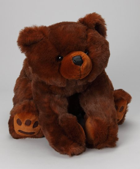 Mr. Minky Brown Bear Plush Toy