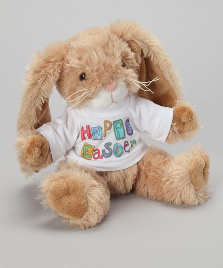 Purr-fection Tan Tender Friend Bunny Plush Toy