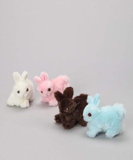 Purr-fection Small Bunny Plush Toy Set