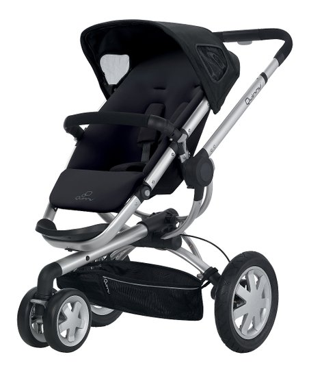 Quinny Rocking Black Buzz Stroller