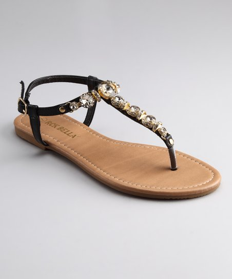 Black Saber 13 Sandal