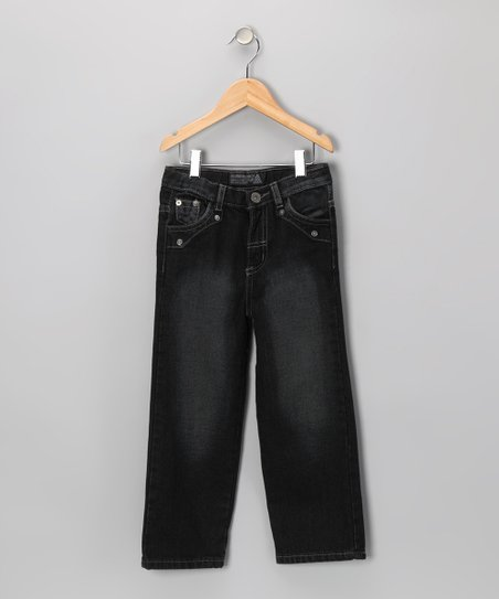 Black Fade Fashion Jeans - Toddler