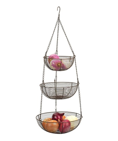 Bronze Hanging Basket