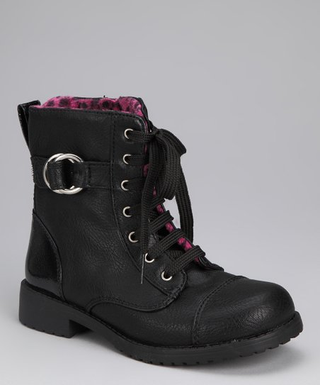 Black Lil Peyton Boot