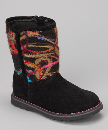 Black Lynette Boot