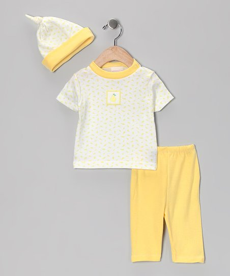 Yellow Pear Top Set