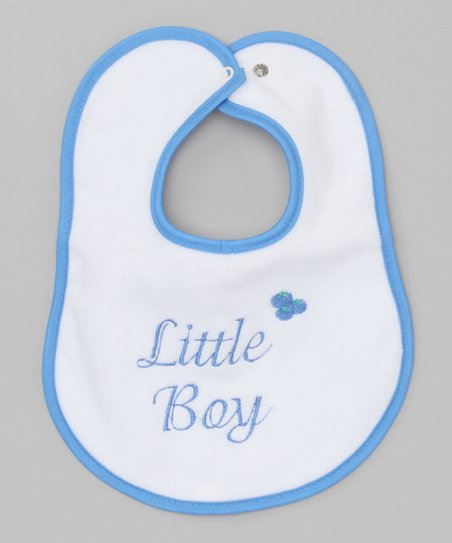 Raindrops Royal 'Little Boy' Bib